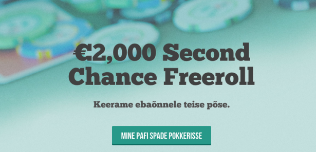 Osale siit Pafi Second Chance freerollil