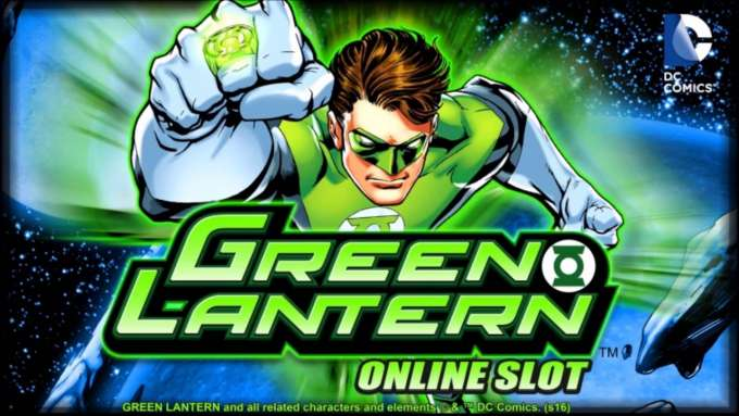 New online slot Green Lantern now available at Unibet