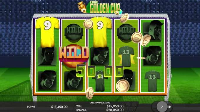 Euro Golden Cup Video Slot Game - Trailer