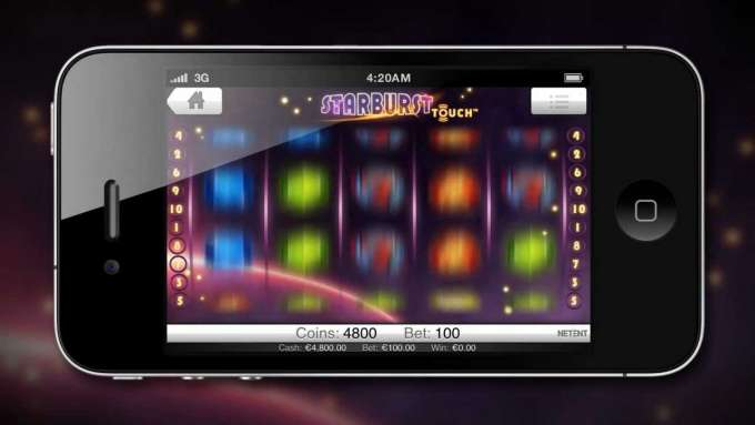Starburst Touch™ - Net Entertainment