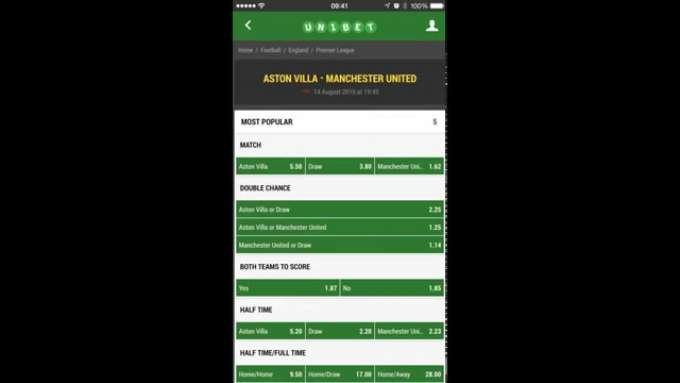 Unibet Sports Betting App